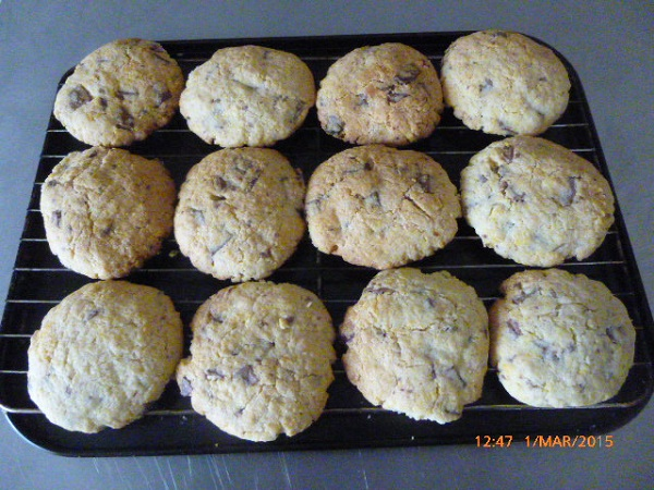 homemase choc chip cookies