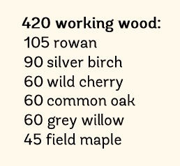 Working Wood tree pack