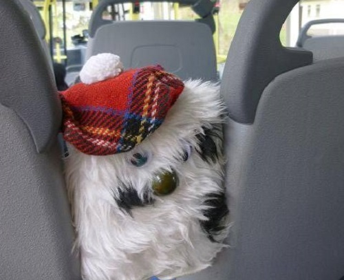 McGonk on the Tobermory bus