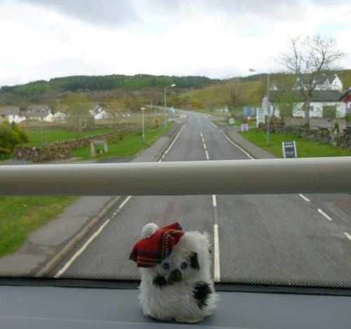 Upstairs on the tobermory double decker