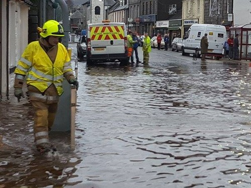 Newton Stewart Flood