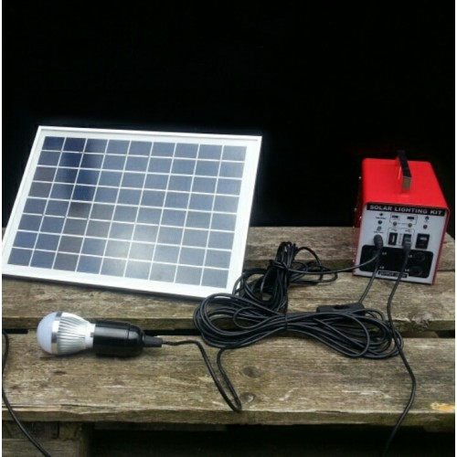 The Little Red Box portable solar kit