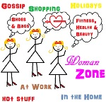 Get into the woman zone