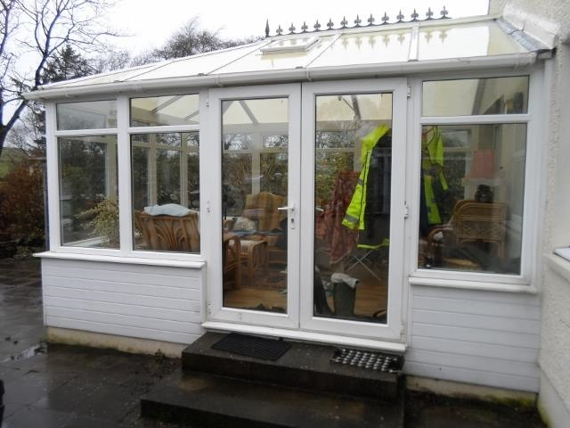 Recycling a conservatory